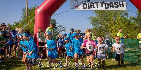 Beloit 5th ANNUAL Dirty Dash 2019 (Youth Mud Run/Walk with Obstacles) tickets