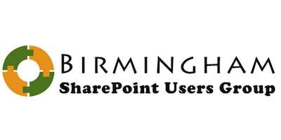 Birmingham SharePoint / Office 365 User Group Meeting