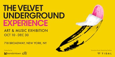 The Velvet Underground Experience (December Dates)