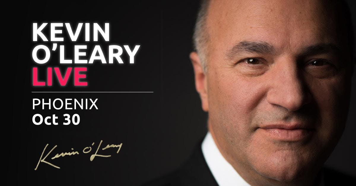 (FREE) Shark Tank's Kevin O'Leary LIVE in Phoenix