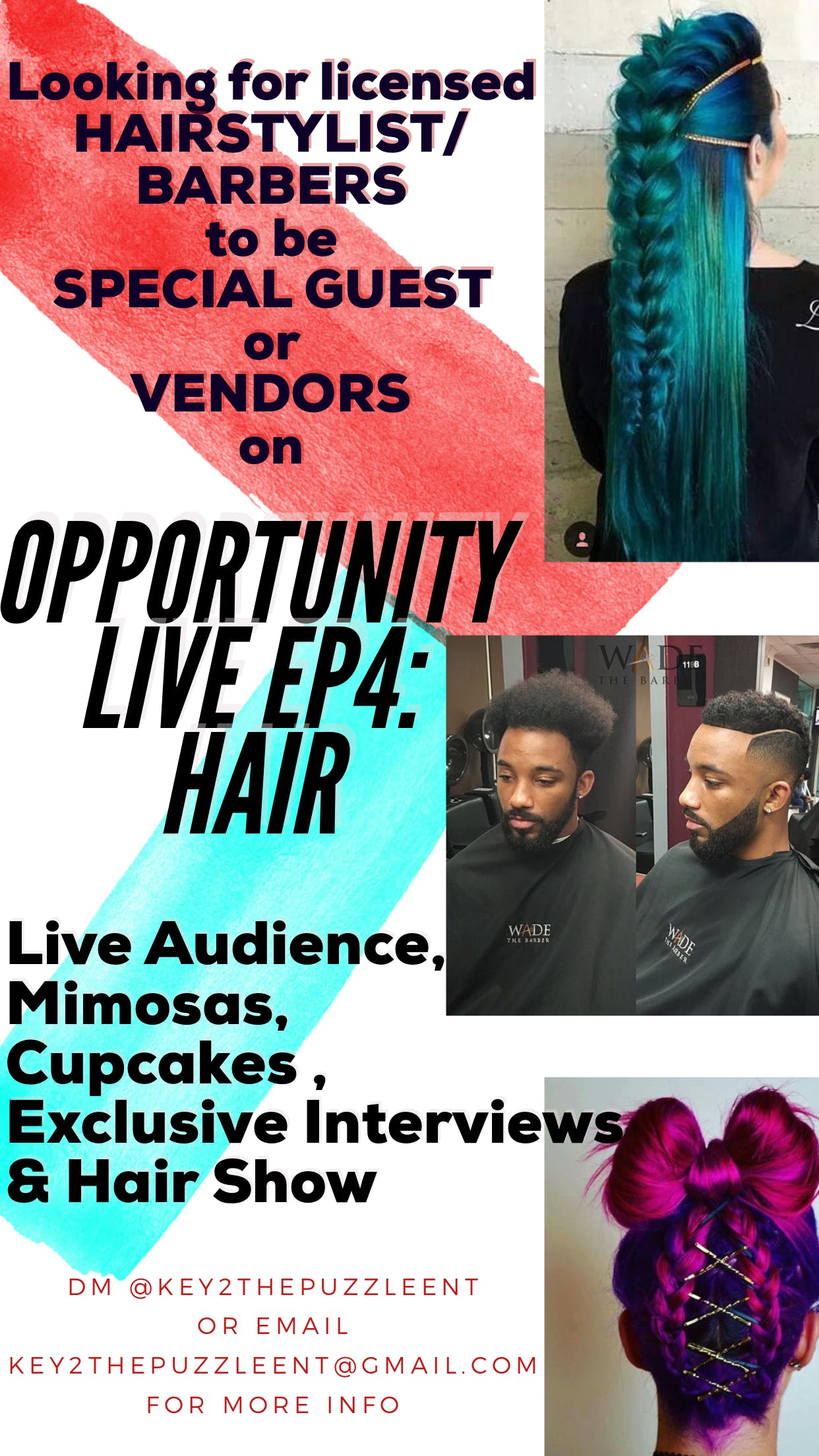 Opportunity LIVE Ep4: HAIR