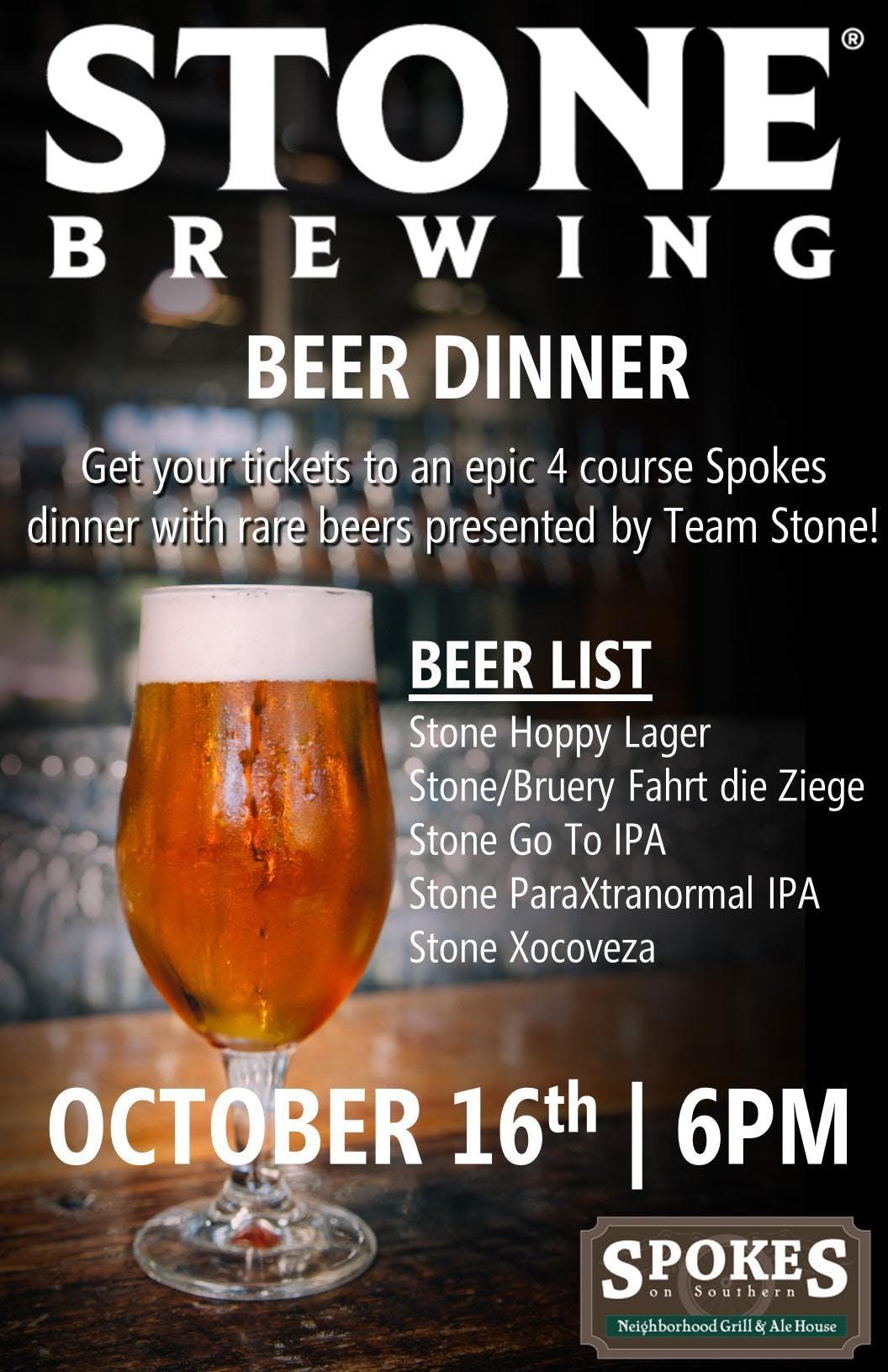 stone brewery beer list
