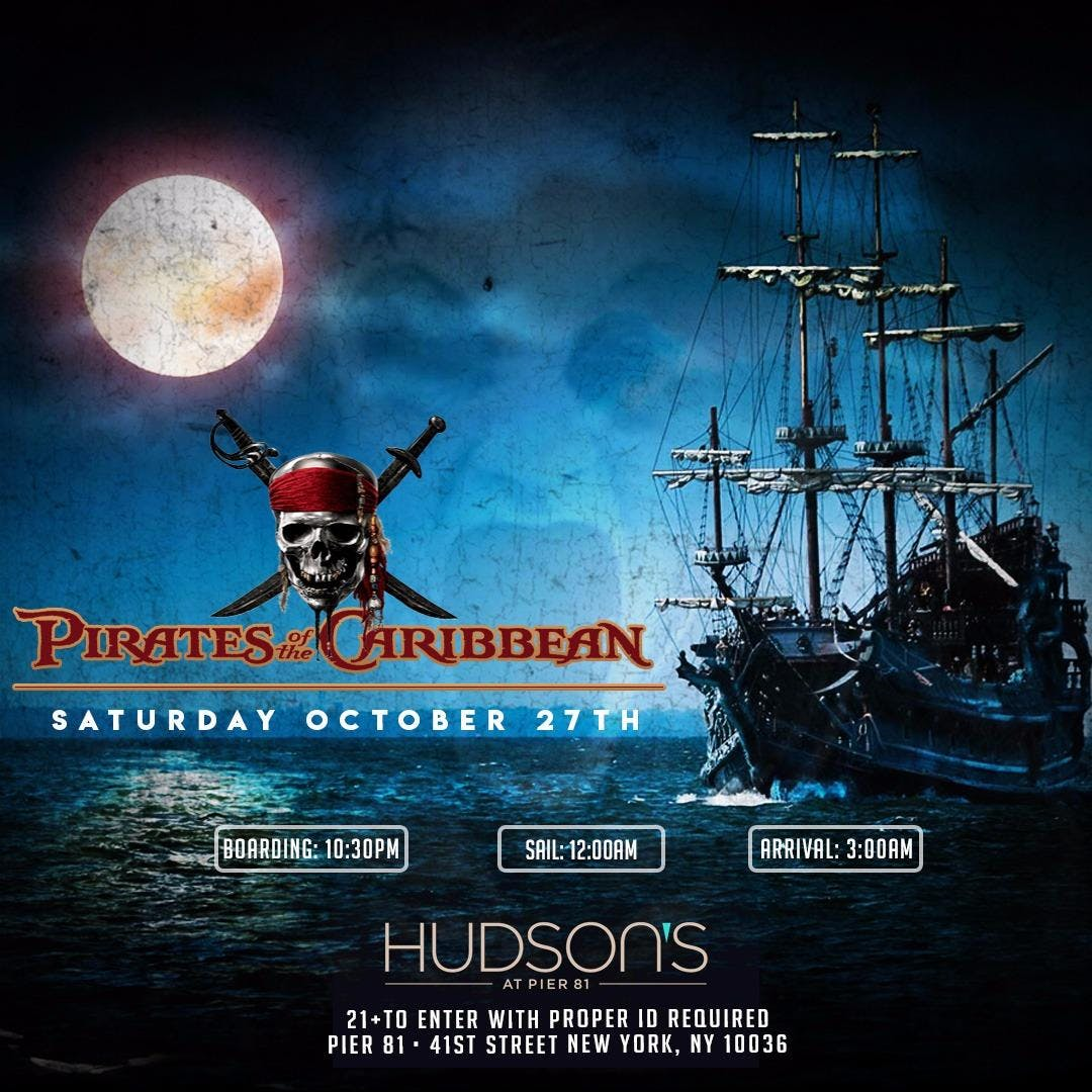 Pirates of the Caribbean Halloween Boat Party