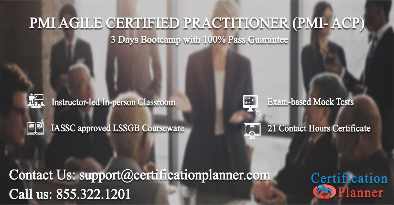 PMI Agile Certified Practitioner (PMI-ACP) 3 Days Classroom in Phoenix