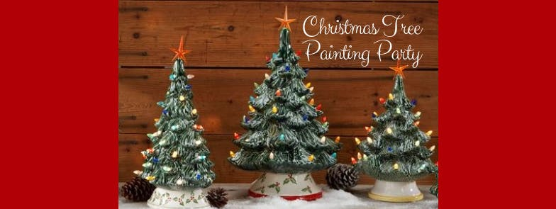 New Day Craft - Christmas Tree Painting