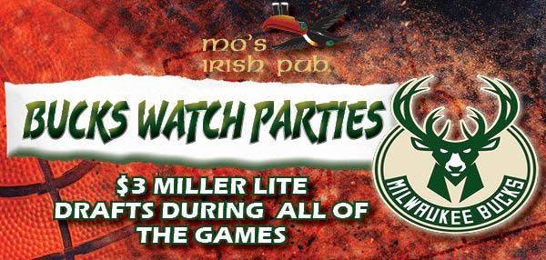 Bucks Watch Party & Free Shuttle To The Game!