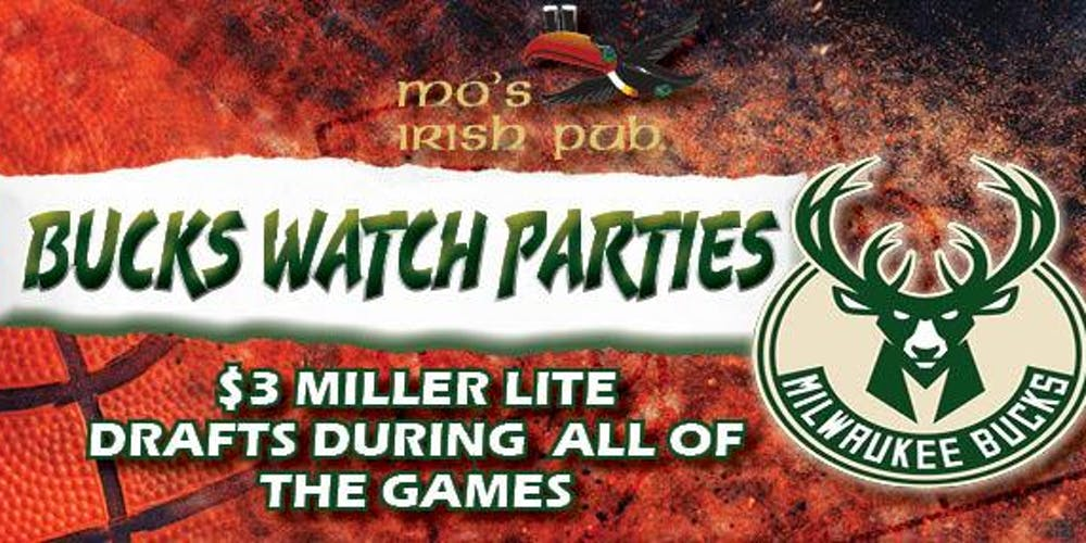 Bucks Watch Party Free Shuttle To The Game Tickets Multiple Dates Eventbrite