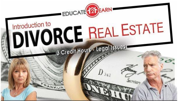 Intro to Divorce Real Estate