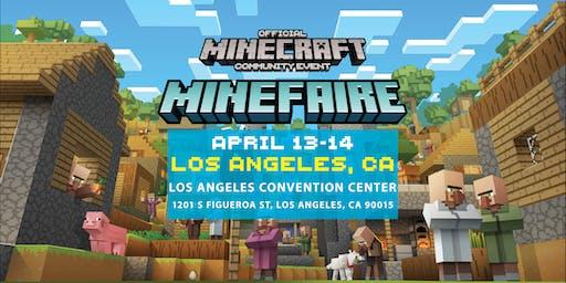 Minefire:官方Minecraft社区活动(洛杉矶,CA)