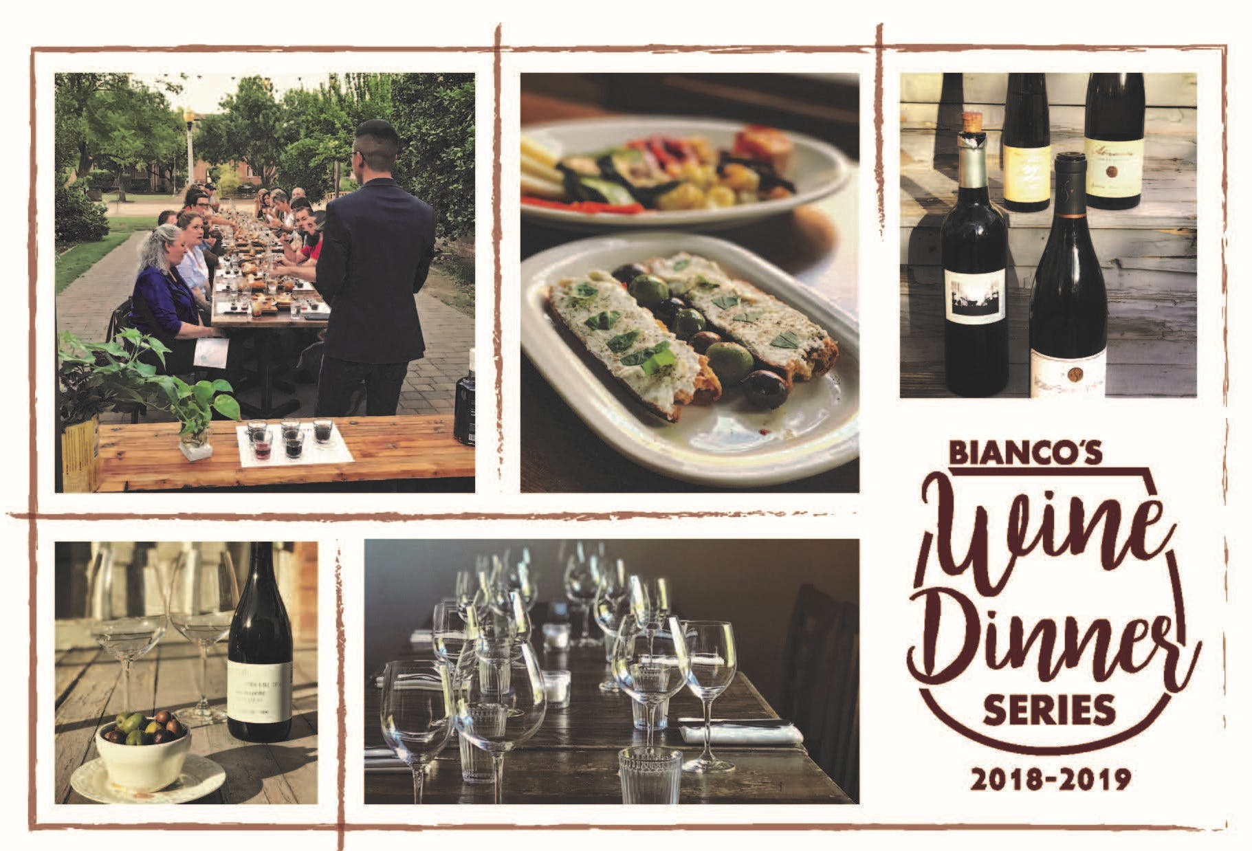 Bianco Wine Dinner Series  -      Field Recordings