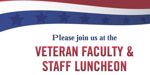 Veteran Faculty and Staff Luncheon