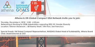 Athena & UN Global Compact USA VIP Reception