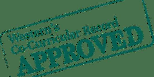 Veritas Co-Curricular Record Registration