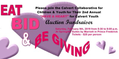 2nd Annual HAVE A HEART for Calvert Youth Auction Fundraiser