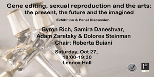 Gene editing, sexual reproduction and the arts - Panel...