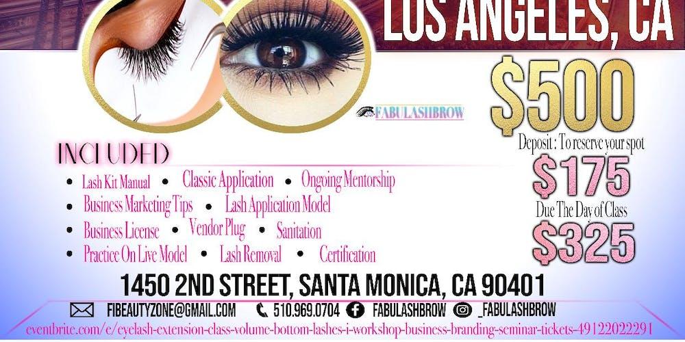 Lasanta Monica Fabulashbrow Eyelash Extension Classic Volume