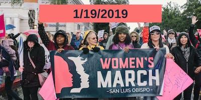 Women's March SLO 2019