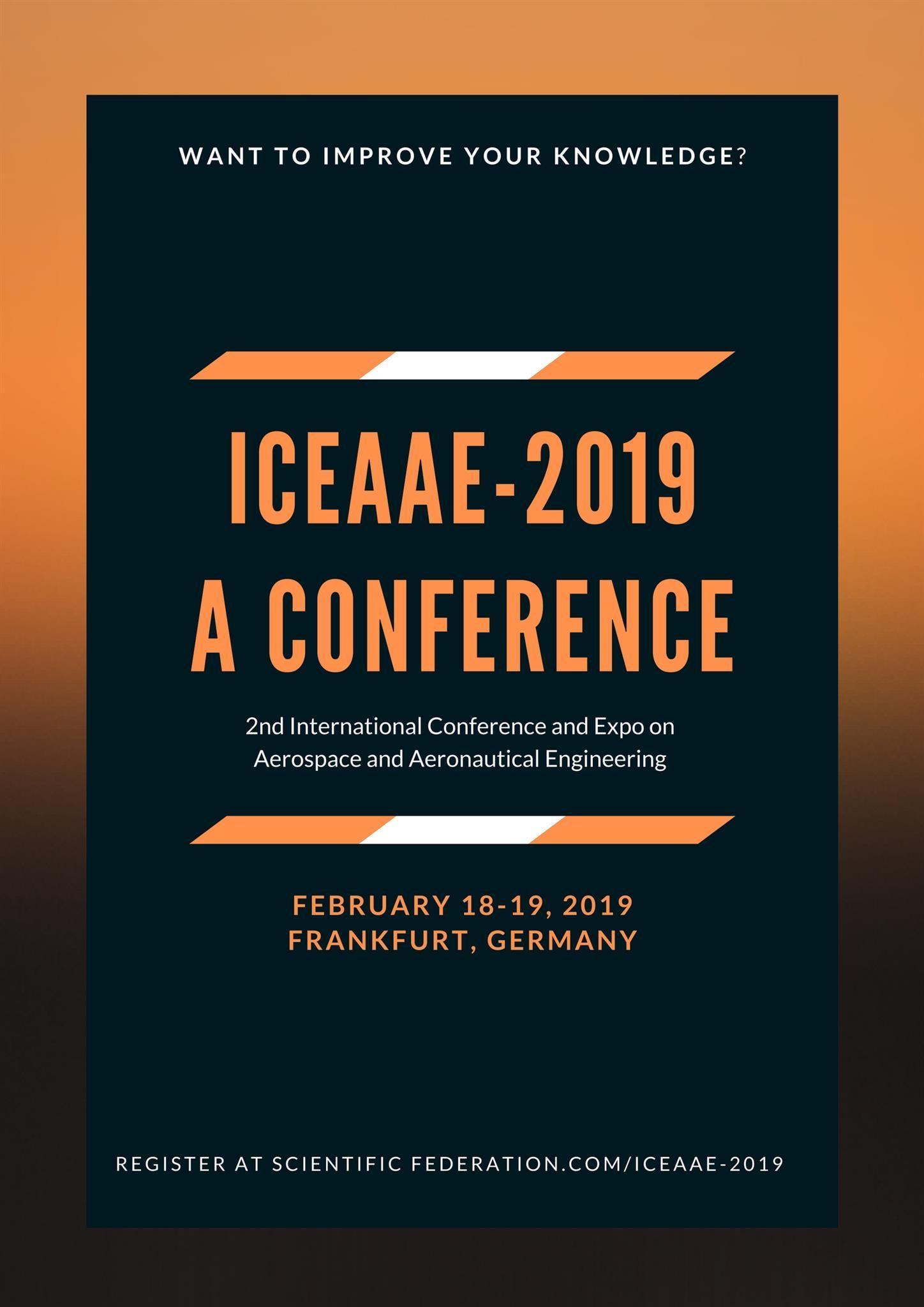 2nd International Conference & Expo on Aerosp