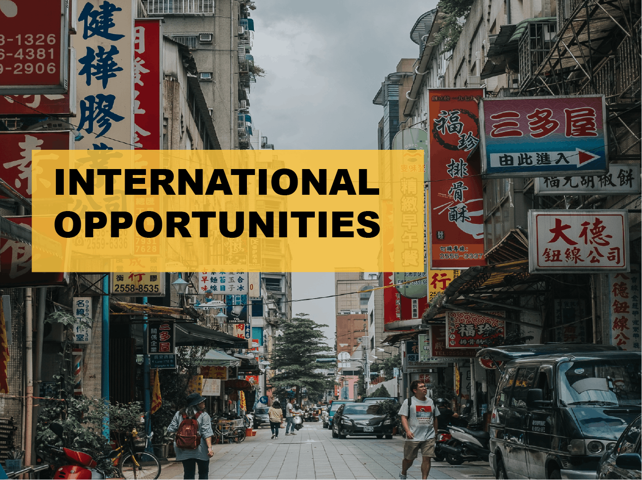 International Opportunities MBA Lecture Event