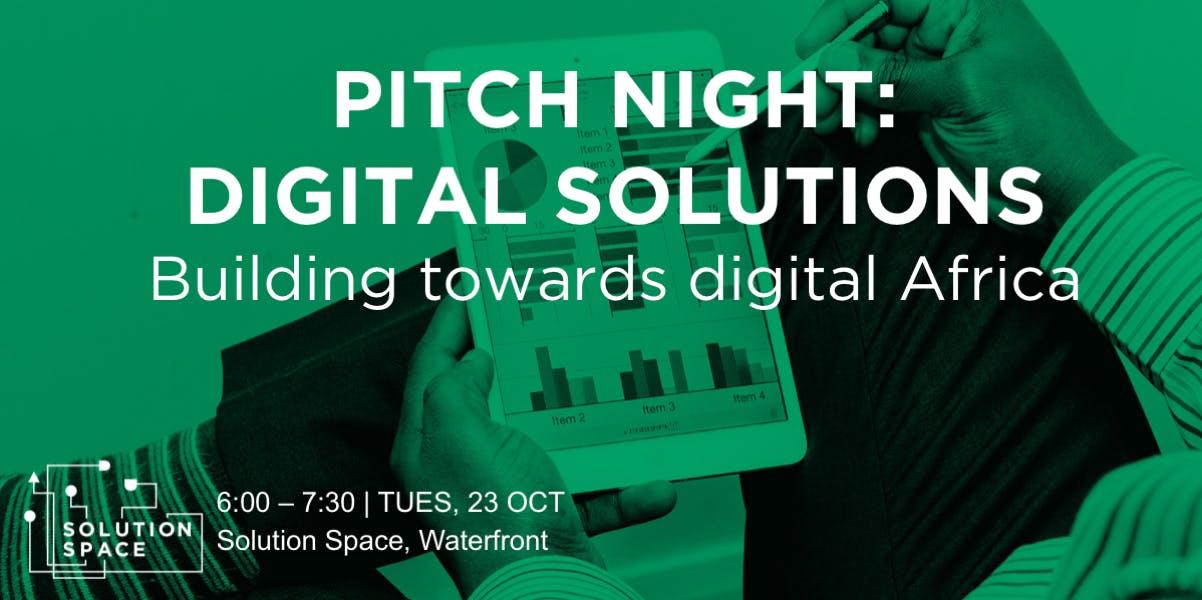Pitch Night: Digital Solutions