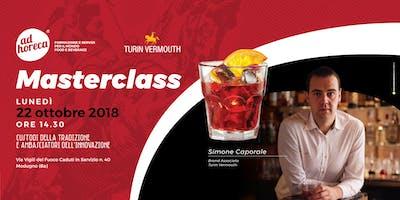 Ad Horeca - Masterclass con Simone Caporale - Turin Vermouth