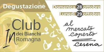 Degustazione Club dei Bianchi in Romagna al Mercato Coperto
