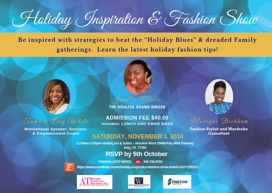 Holiday Inspiration & Fashion Show