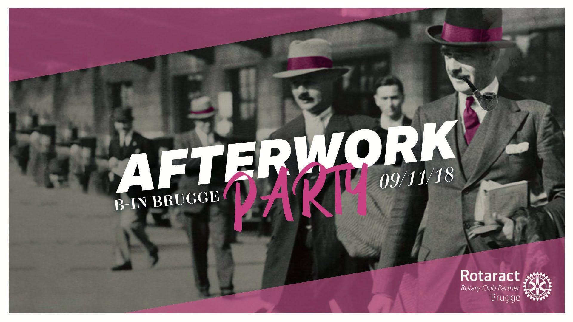 Afterwork Rotaract Brugge 2018