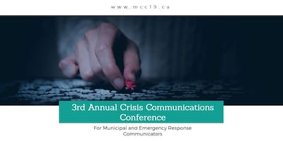 3rd Annual Crisis Communications Conference for Municipalities