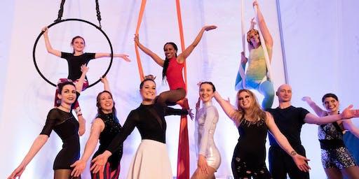 Iowa Circus Arts Fall 2019 Show at the Des Moines Social Club