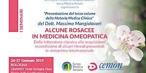 BOLOGNA - LA FAMIGLIA OMEOPATICA DELLE ROSACEE - Dott....