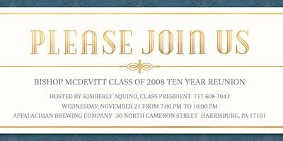 Bishop McDevitt Class of 2008 Ten Year Reunion