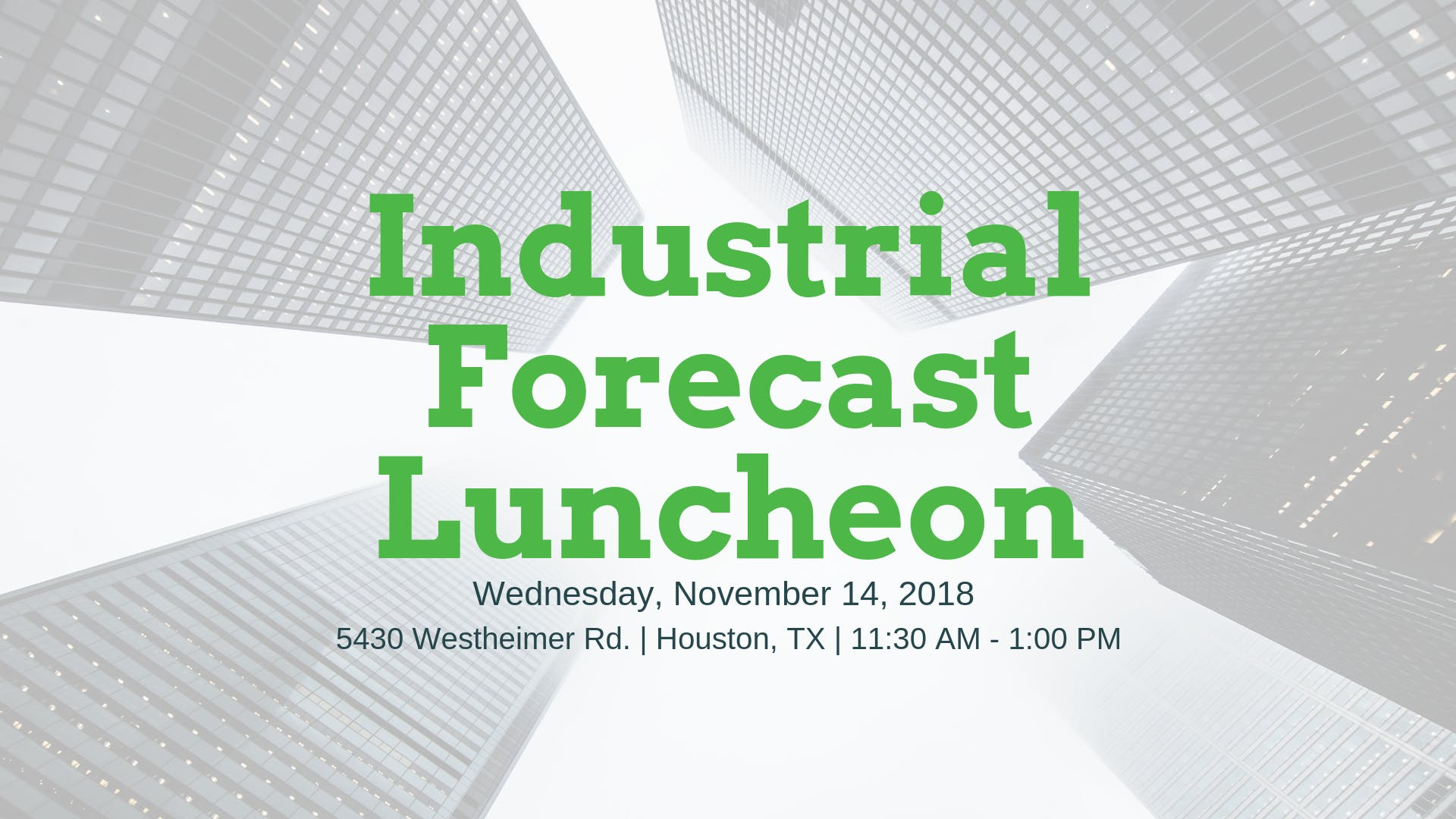 Industrial Forecast Luncheon