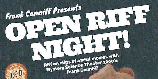 Frank Conniff's Open Riff Night