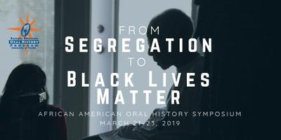 The African American Oral History Symposium