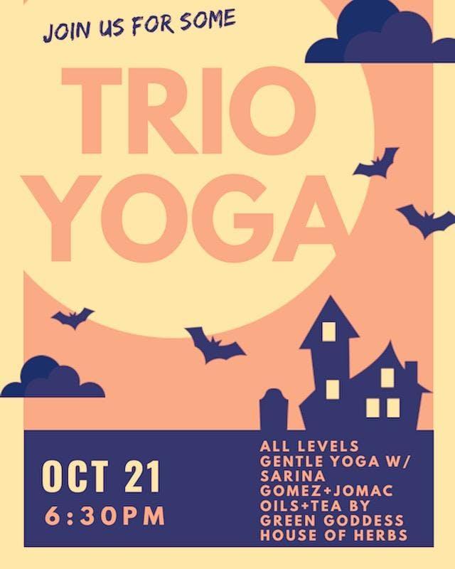 Trio Studio Halloween Yoga