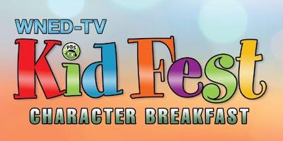 WNED-TV Kid Fest Character Breakfast 2019