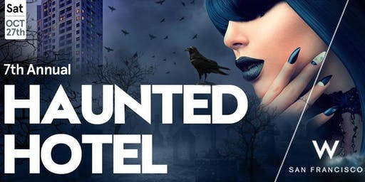 haunted hotel w san francisco halloween