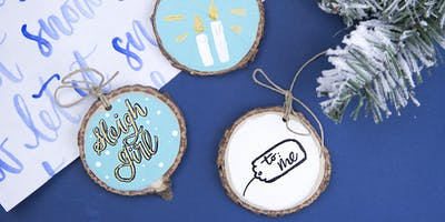 DIY Wooden Ornaments