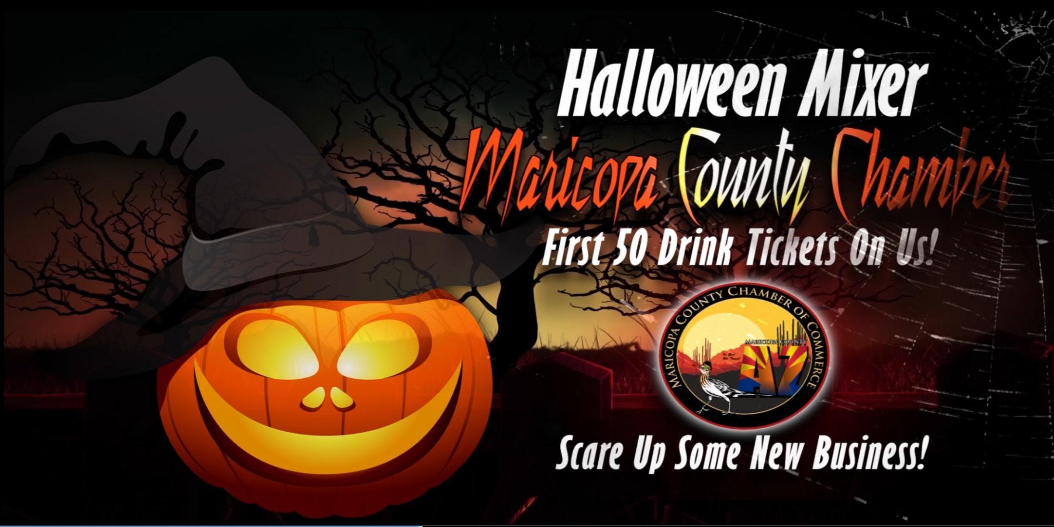 Maricopa County Chamber Halloween Business Mixer