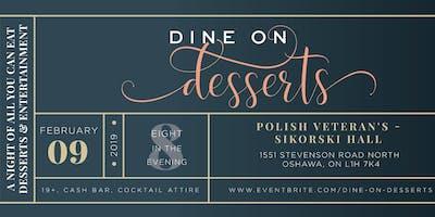 Dine on Desserts