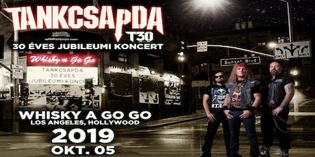 Tankcsapda 30 Éves Jubileumi Koncert/Tankcsapda 30th Anniversary Concert tickets