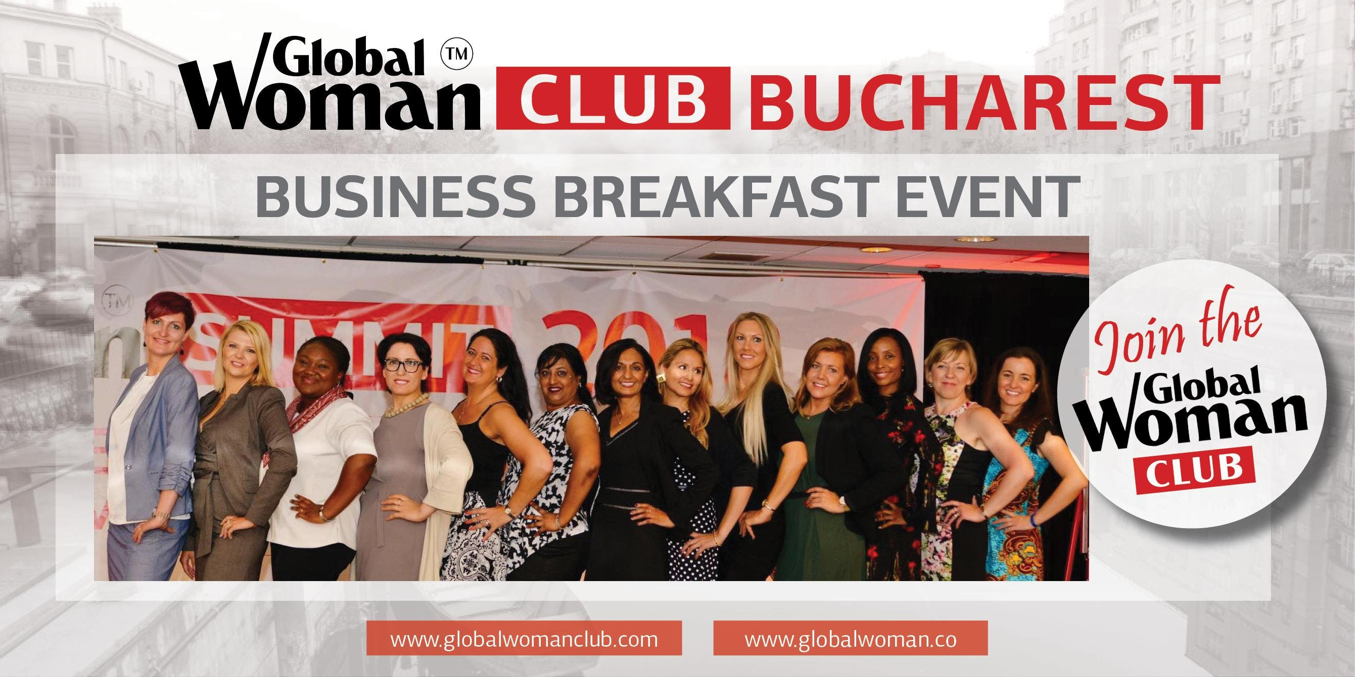 GLOBAL WOMAN CLUB BUCHAREST: BUSINESS NETWORKING BREAKFAST - NOVEMBER