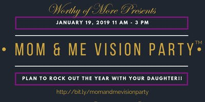 2019 Mom & Me Vision Party