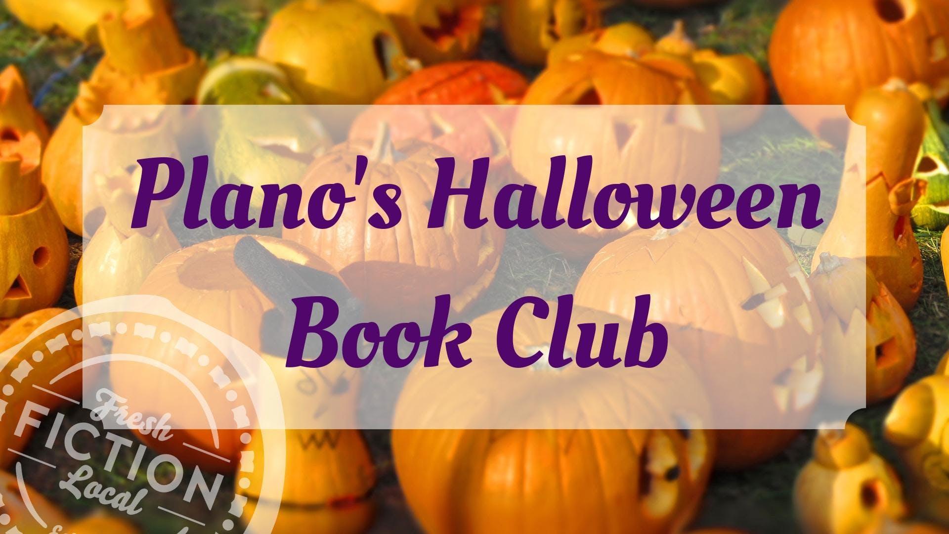 Plano's Halloween Book Club with Jennifer Est