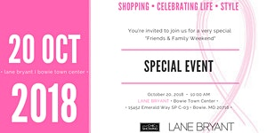 Special Event at Lane Bryant - Bowie Town Center