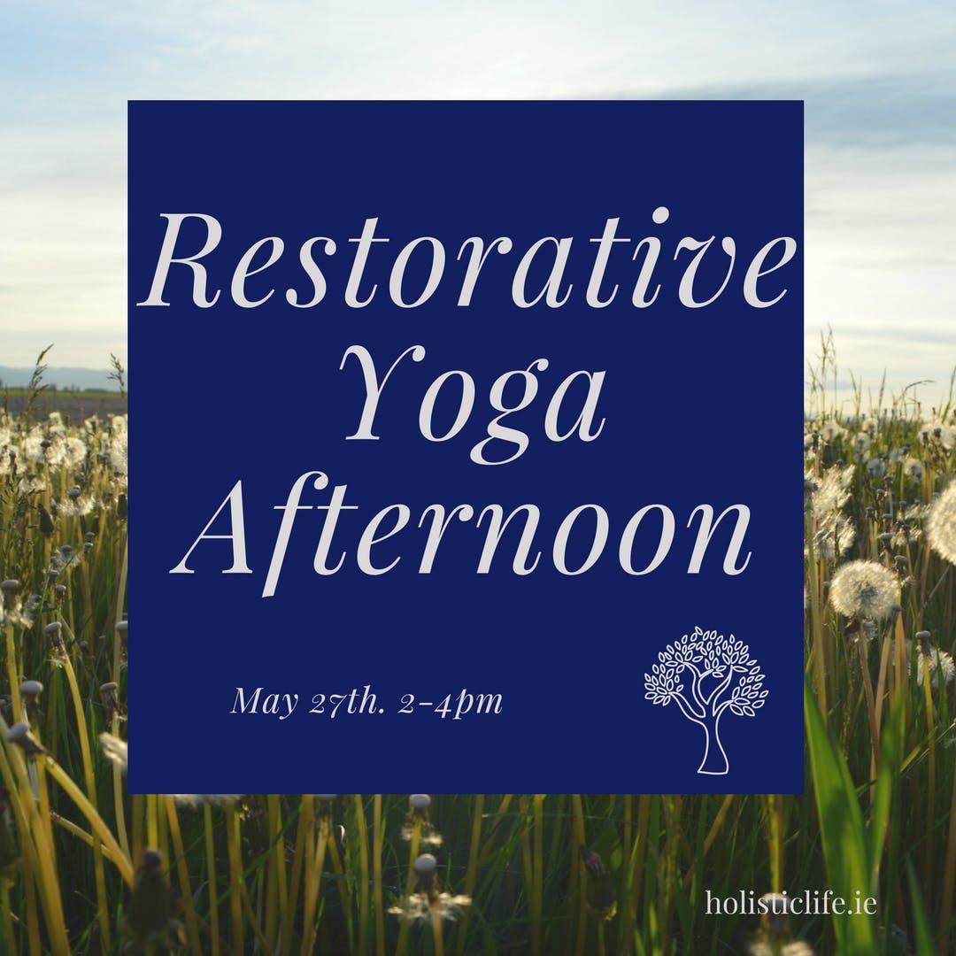 Restorative Yoga Afternoon