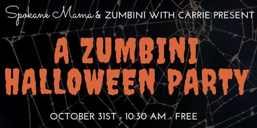 a zumbini halloween party 1030 am