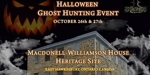 Halloween Public Ghost Hunt