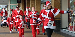 Staines-upon-Thames Santa Fun Run 2018